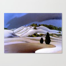 The Weather Breaks, Bay of Plenty Canvas Print