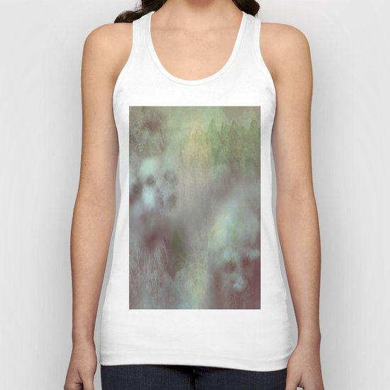 The ghosts of the cursed forest Unisex Tank Top