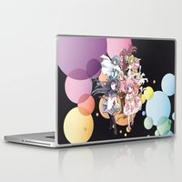 madoka magica Laptop & iPad Skins featuring Puella Magi Madoka Magica - Only You by Yue Graphic Design
