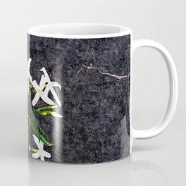 Jasmine Flowers Bouquet Floral Painting Coffee Mug