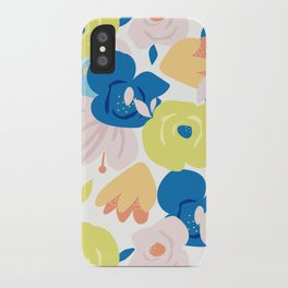 Painterly Blooms iPhone Case