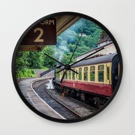 Platform 2 Wall Clock