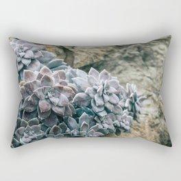 Botanical Gardens II - Succulents #557 Rectangular Pillow