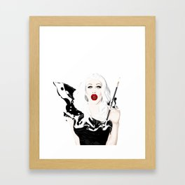 Sharon Needles, RuPaul's Drag Race Queen Framed Art Print