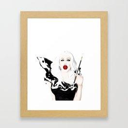 Sharon Needles, RuPaul's Drag Race Queen Framed Art Print