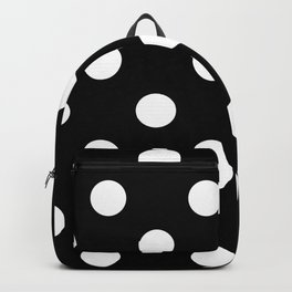 Polkadot (White & Black Pattern) Backpack