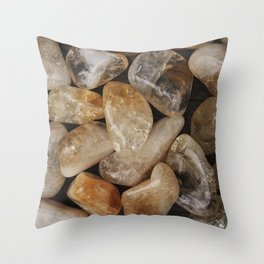 Citrine #1 Throw Pillow