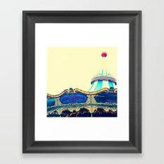 San Francisco Carousel Pier 39 Framed Art Print