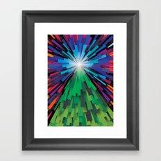 Light the tree Framed Art Print