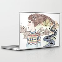 hindu Laptop & iPad Skins featuring Cold Water by Brooke Weeber