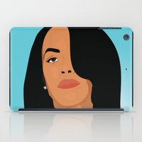 aaliyah iPad Cases featuring Babygirl by 92 Aesthetics