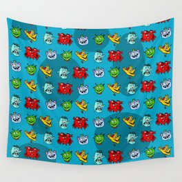 Monsters [small] Wall Tapestry