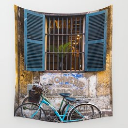 Savonnerie and Bicycles, Hoi An Ancient Town, Vietnam Wall Tapestry