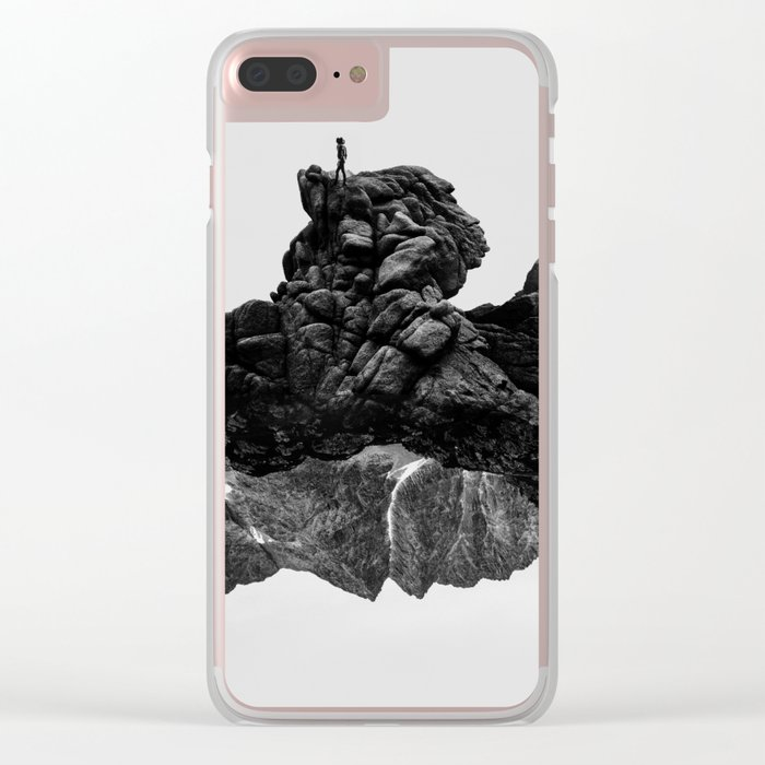 Isolate Me Clear iPhone Case