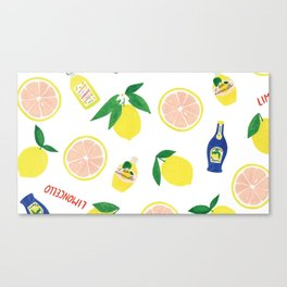 Tea2 Canvas Print