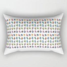 All the hearts Rectangular Pillow