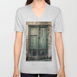 Old Green Door Unisex V-Neck