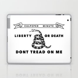 Culpeper Minutemen Flag Laptop & iPad Skin