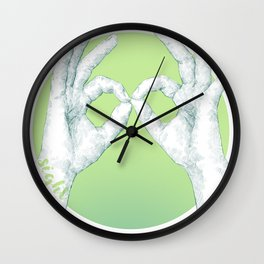5 senses - Sight Wall Clock
