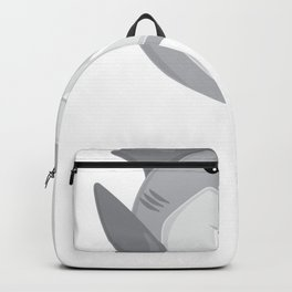 Friendly Sharks Great White Shark Backpack