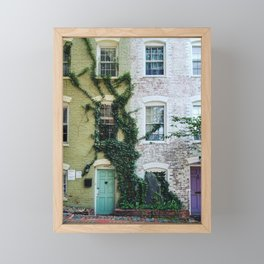 Georgetown House 11 Framed Mini Art Print