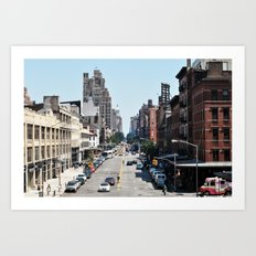 From the High Line Art Print
