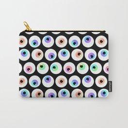 Lovely Sparkly Rainbow Eyeballs Carry-All Pouch