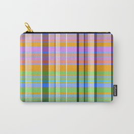 Stripes Multi Colors - Lumi Plaid Carry-All Pouch