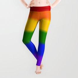 Gay Pride Flag Leggings