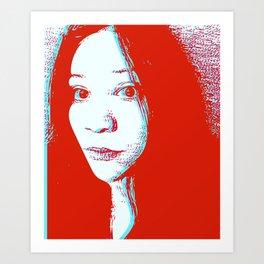 3D Michelle Art Print
