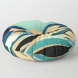 Emerald Evening Floor Pillow