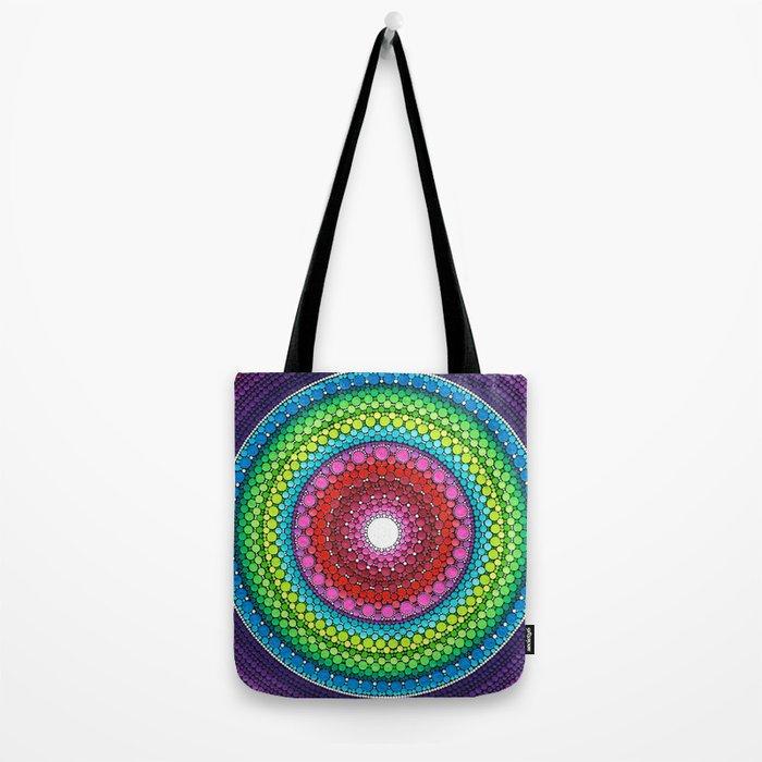 Mandala of Inner Peace Tote Bag