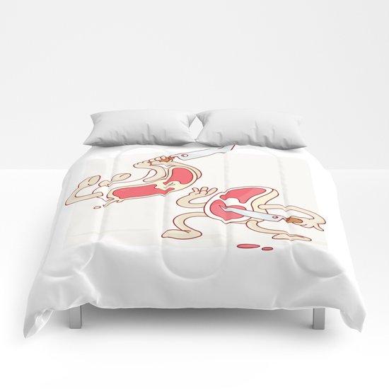 Beef. Comforters