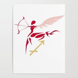 Sagittarius, The Fire Element | Mentor of Achilles Poster