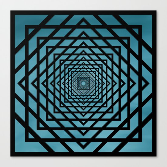 Eternally Blue Canvas Print