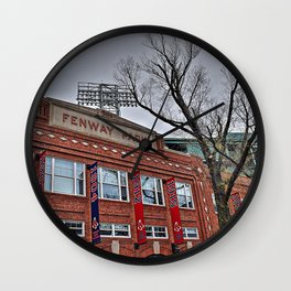 Welcome To Fenway Park Wall Clock