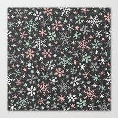 Snow Flurry Canvas Print