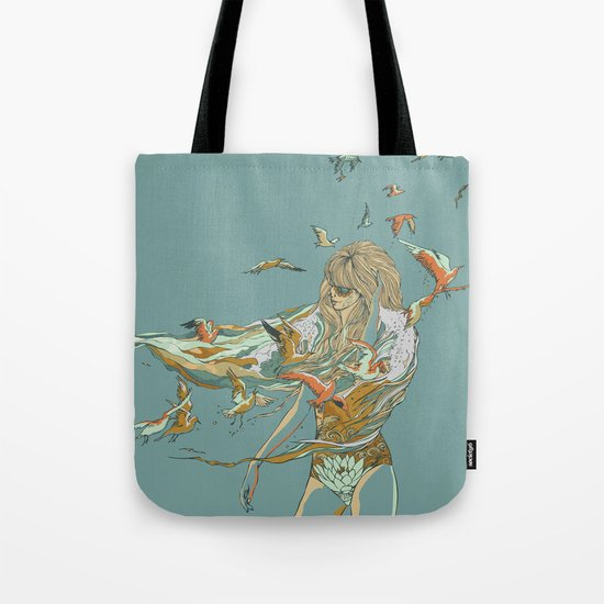 MELT INTO THE OCEAN Tote Bag