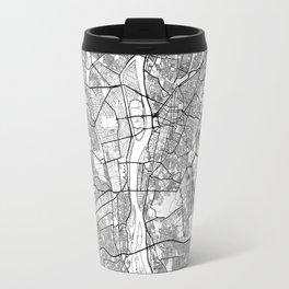 Cairo Map White Travel Mug