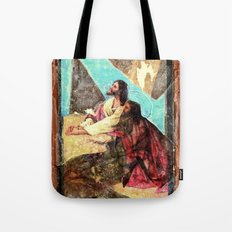 double jesus Tote Bag