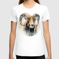 ram T-shirts featuring Ram by Slaveika Aladjova