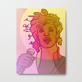 Dear Prince / Stay Wild Collection Metal Print