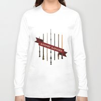 marauders Long Sleeve T-shirts featuring Mischief Managed by Dorothy Leigh