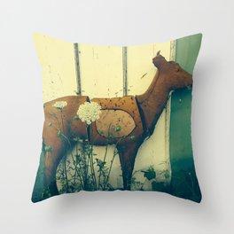 Deerside  Throw Pillow