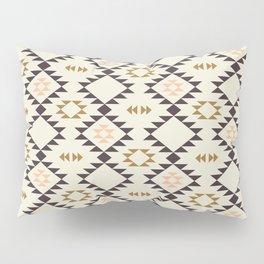 Golden Brown Pink - Navajo  Pillow Sham