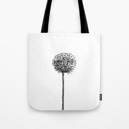 Allium pom Tote Bag