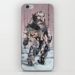 Catsquatch (super high res) iPhone Skin