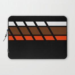 Team Colors 4...Brown ,orange Laptop Sleeve