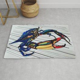 Maryland blue crab Rug