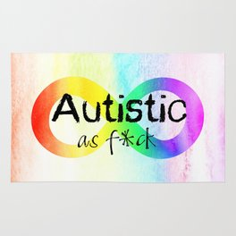 Autistic as f*ck Rug